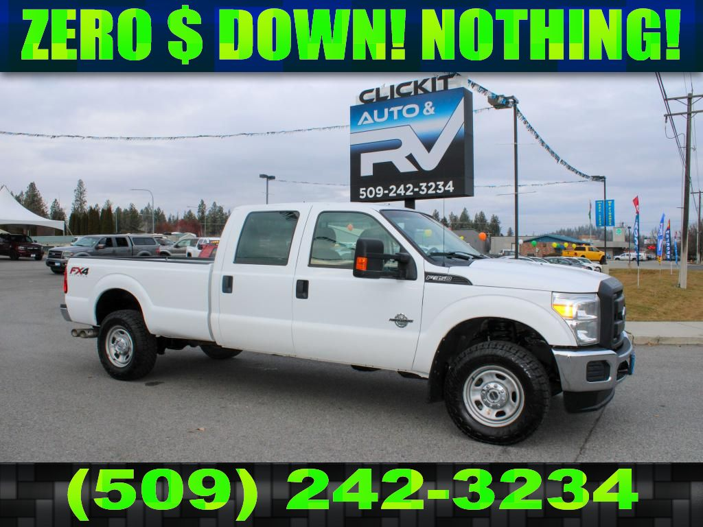 Pre-Owned 2016 Ford F-350 Super Duty XL FX4 6.7L V8 4x4 Diesel Truck