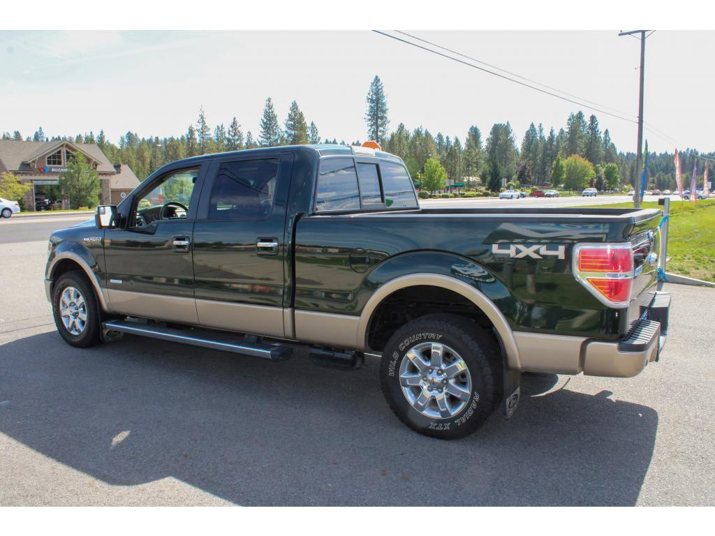 Pre-Owned 2013 Ford F-150 LARIAT 3.5L V6 4x4 EcoBoost Truck
