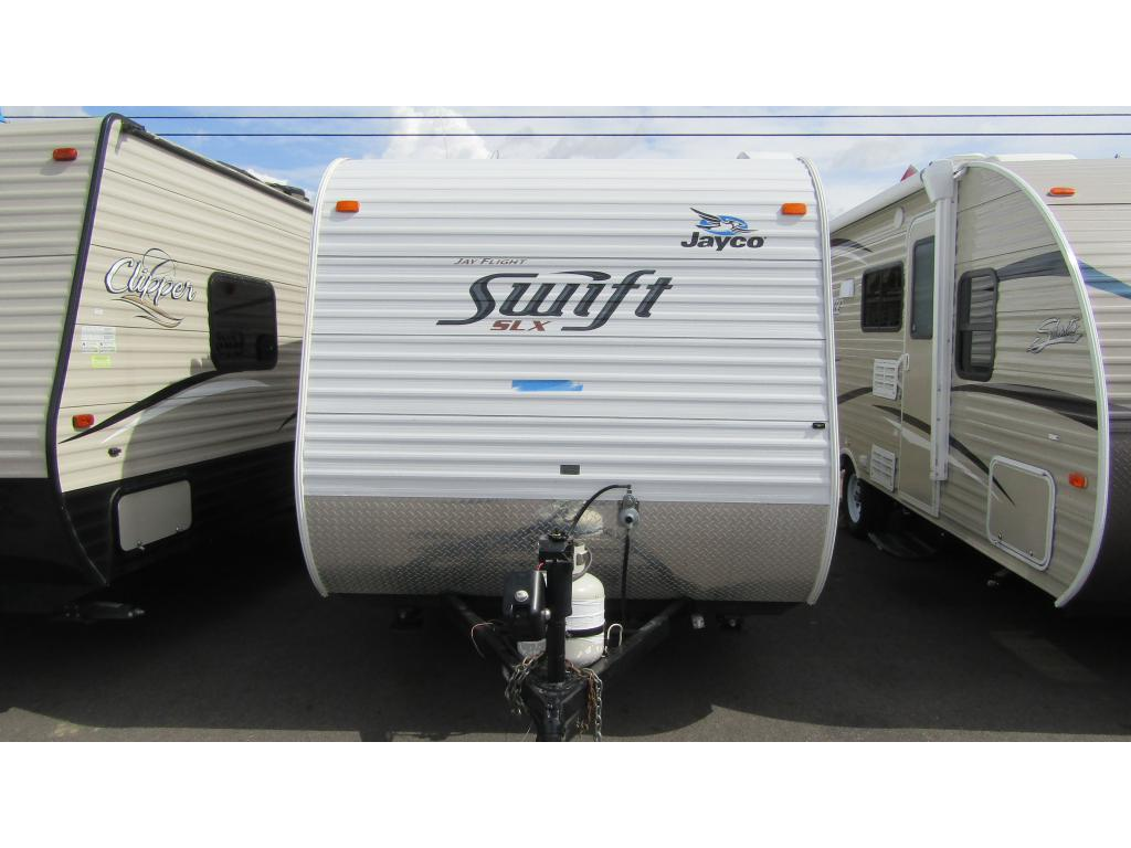 Pre-Owned 2011 JAYCO SWIFT 154BH Sleeps 4 Travel Trailer