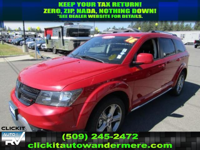 Pre-Owned 2016 Dodge Journey Crossroad Plus AWD SUV CROSSOVER