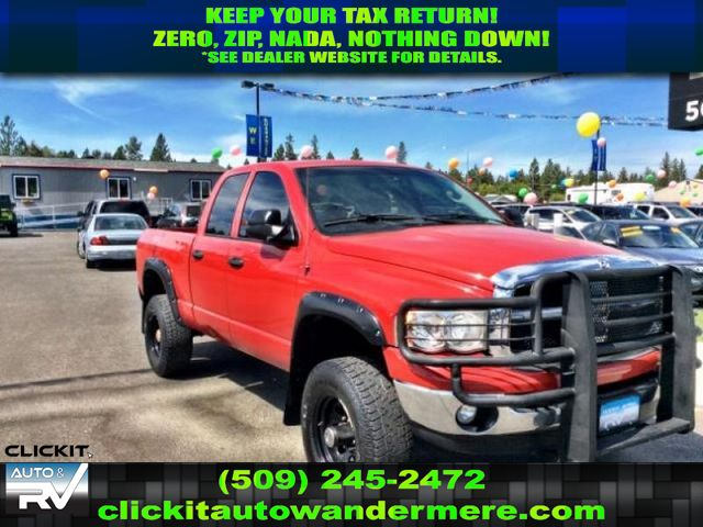 Pre-Owned 2005 Dodge Ram Pickup 2500 SLT 5.9L Turbo Diesel 4x4 Truck
