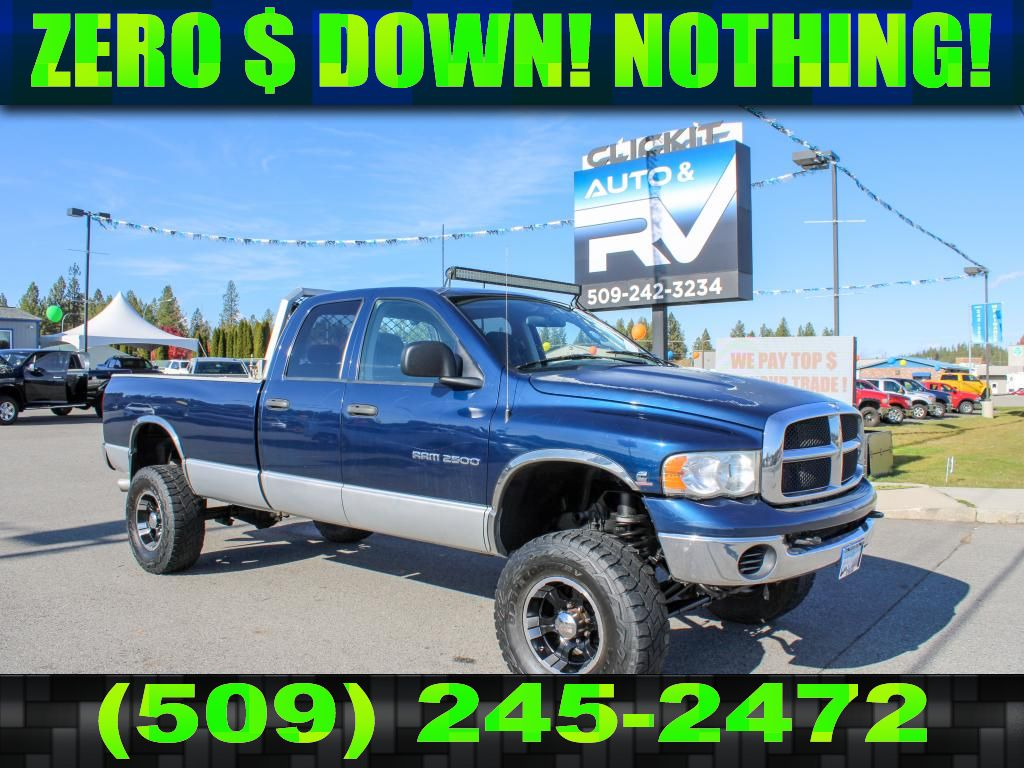 Pre-Owned 2004 Dodge Ram Pickup 2500 SLT 5.9L 4x4 Diesel Truck