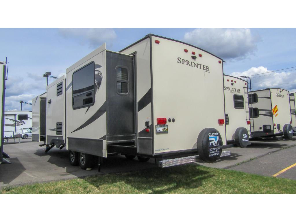 New 2018 KEYSTONE RV COMPANY SPRINTER 332DEN 4 Slides Sleeps 4 Travel Trailer