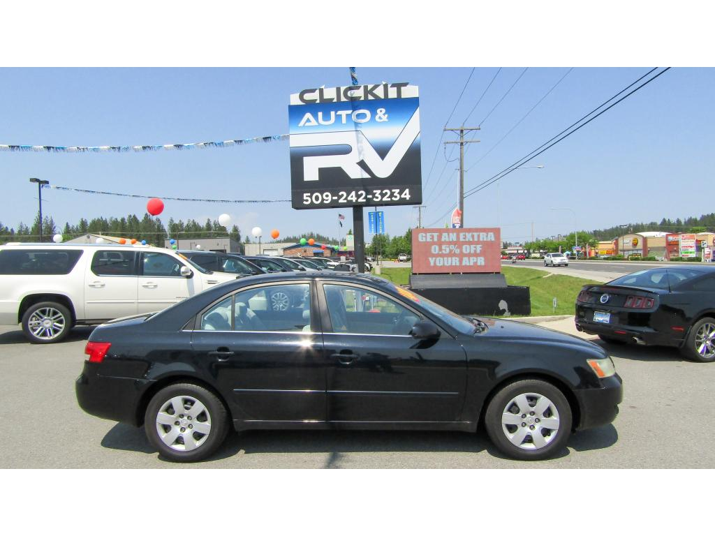 Pre-Owned 2007 Hyundai Sonata GLS 2.4L Front Wheel Drive Sedan
