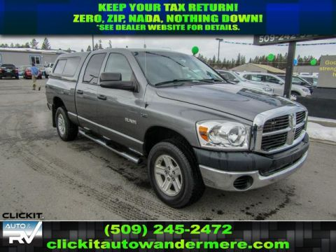 Pre-Owned 2008 Dodge Ram Pickup 1500 ST 5.7L V8 4x4 Truck