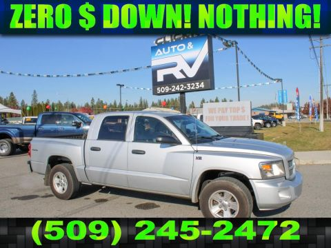 Pre-Owned 2011 Dodge Dakota SXT 4.7L V8 4x4 Pickup Truck
