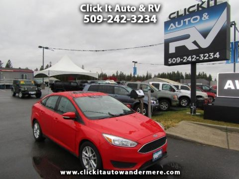Pre-Owned 2015 Ford Focus SE flex fuel fwd