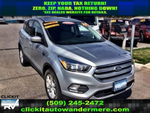 Pre-Owned 2017 Ford Escape SE 2.0L EcoBoost 4x4 SUV