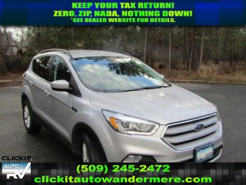 Pre-Owned 2018 Ford Escape SEL1.5L ECOBOOST 4x4 SUV