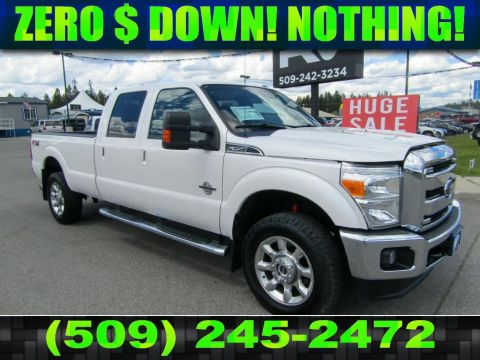 Pre-Owned 2016 Ford F-350 Super Duty FX4 LARIAT 6.7L V8 Diesel Truck