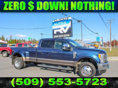 Pre-Owned 2017 Ford F-350 Super Duty LARIAT 6.7L V8 4x4 Diesel Dualie Truck