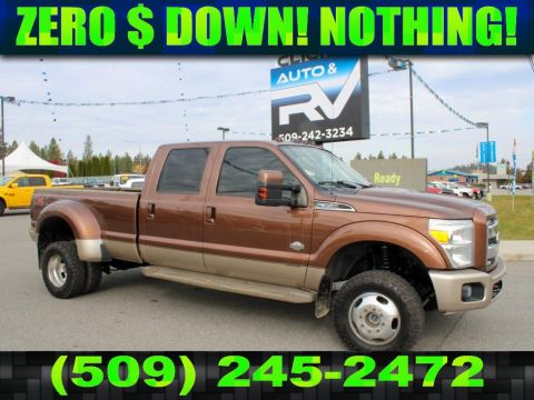 Pre-Owned 2011 Ford F-350 Super Duty KING RANCH 6.7L 4x4 Diesel Dualie Truck