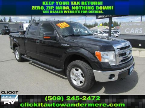 Pre-Owned 2014 Ford F-150 XLT 5.0L V8 4x4 Truck