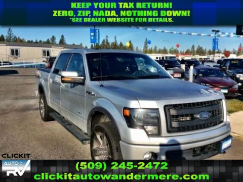 Pre-Owned 2014 Ford F-150 FX4 ECOBOOST CREW 4X4