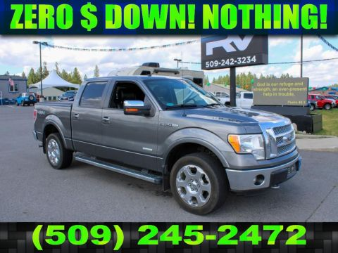 Pre-Owned 2012 Ford F-150 LARIAT 3.5L V6 4x4 EcoBoost Truck