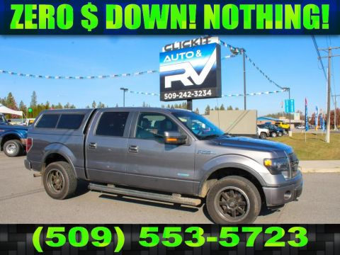 Pre-Owned 2013 Ford F-150 FX4 3.5L V6 EcoBoost 4x4 Pickup Truck