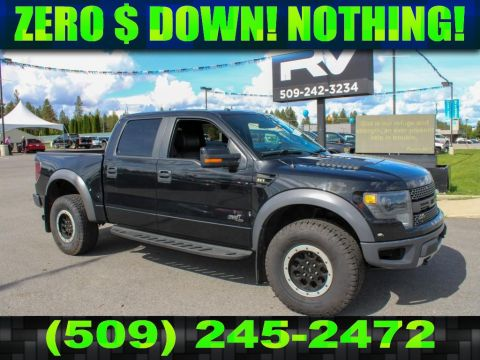 Pre-Owned 2014 Ford F-150 SVT Raptor 6.2L V8 4x4 Truck