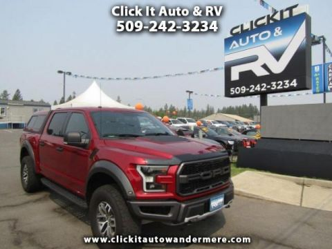 Pre-Owned 2017 Ford F-150 Raptor dual turbo ecoboost 4x4