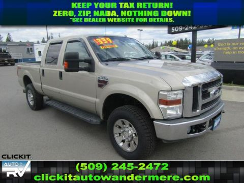 Pre-Owned 2008 Ford F-350 Super Duty LARIAT 6.4L V8 4x4 Diesel Truck