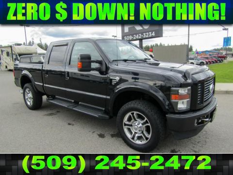 Pre-Owned 2010 Ford F-350 Super Duty HARLEY-DAVIDSON 6.4L V8 4x4 Turbo Diesel