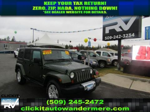 Pre-Owned 2008 Jeep Wrangler Unlimited Sahara Manual 3.8L V6 4x4 SUV