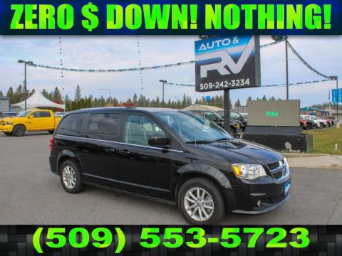 Pre-Owned 2018 Dodge Grand Caravan SXT 3.6L V6 FWD Minivan