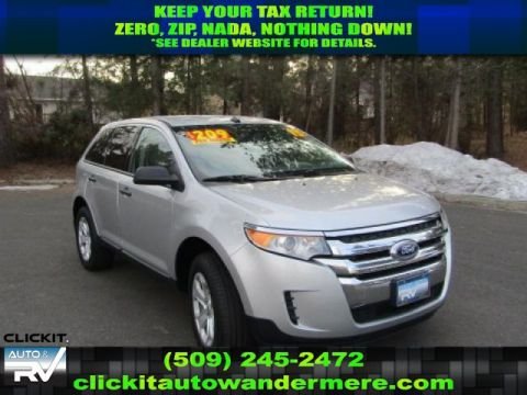 Pre-Owned 2013 Ford Edge SE 3.5L V6 All Wheel Drive SUV