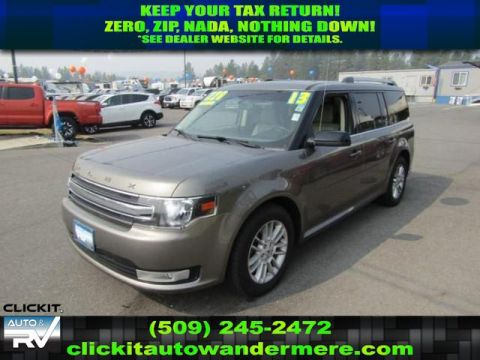 Pre-Owned 2013 Ford Flex SEL 3.5L V6 All Wheel Drive SUV