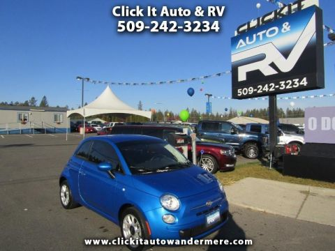 Pre-Owned 2017 FIAT 500 Pop 4cyl