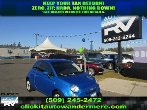 Pre-Owned 2017 FIAT 500 Pop 1.4L Front Wheel Drive Hatchback