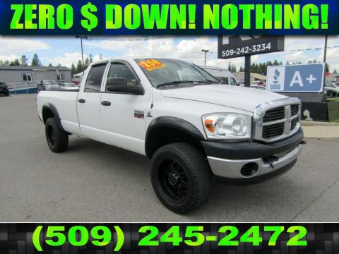 Pre-Owned 2009 Dodge Ram Pickup 2500 SXT 6.7L 4x4 Diesel Truck