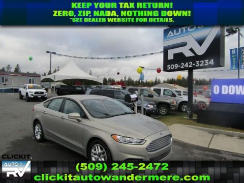 Pre-Owned 2015 Ford Fusion SE 4cyl fwd