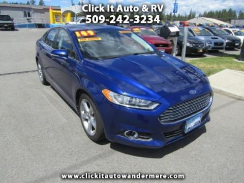Pre-Owned 2013 Ford Fusion SE ecoboost fwd