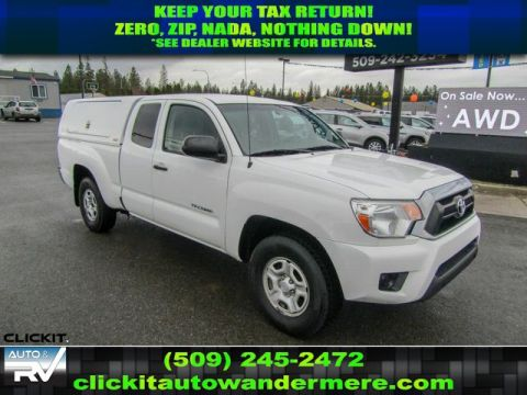 Pre-Owned 2014 Toyota Tacoma 2.7L RWD Pickup Truck