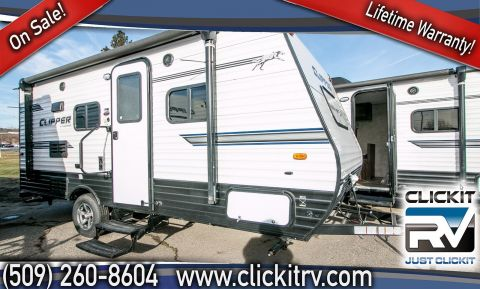 New 2018 COACHMEN CLIPPER SINGLE AXLE 17FQ