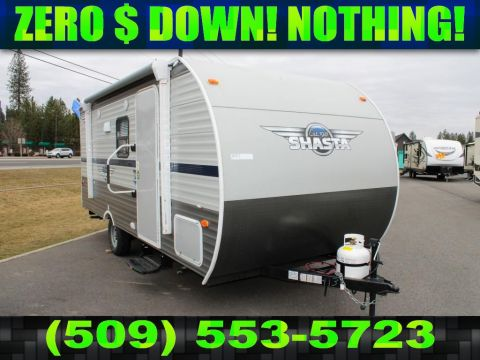 New 2020 SHASTA Shasta 18BH Bunkhouse Travel Trailer