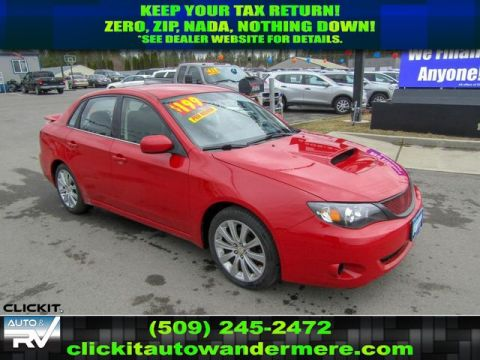 Pre-Owned 2008 Subaru Impreza WRX 2.5L All Wheel Drive Sedan