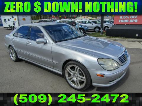 Pre-Owned 2002 Mercedes-Benz S-Class 6.0L V12 RWD Luxury Sedan