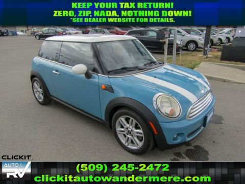 Pre-Owned 2008 MINI Cooper 1.6L Front Wheel Drive Hatchback